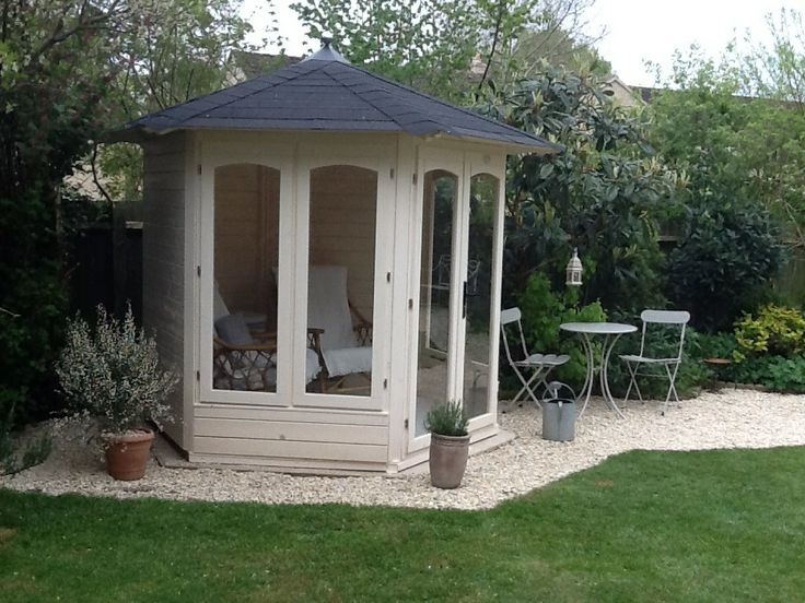 Here is Simon's stunning #summerhouse, he describes it as 'The perfect reading retreat to rest and nurture your inner soul.'