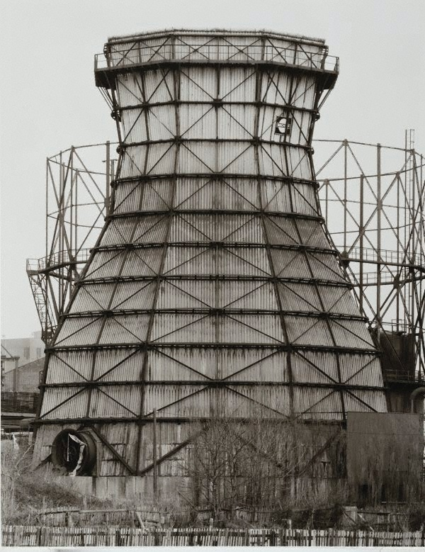 Bernd and Hilla Becher, Cooling towers, Germany, 1964-1993,  printed 2003  Bernd and Hilla Becher  www.artexperiencenyc.com