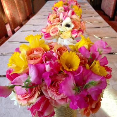 LA-based Bloomerent Florist, Be A Tall Poppy,  and their talent on full display. Looking to find a great florist, save money and go green? www.bloomerent.com for more.