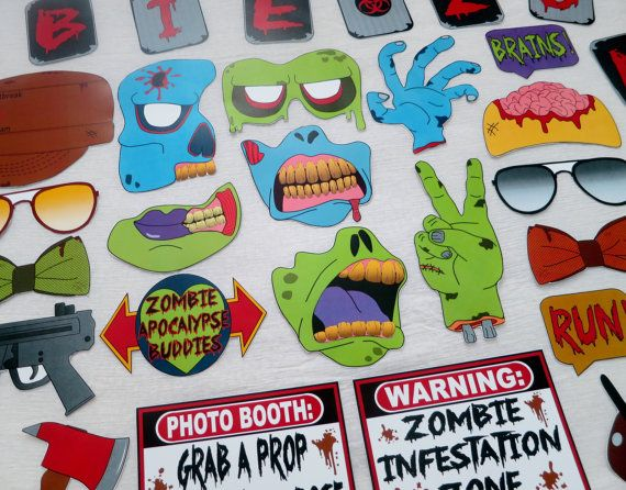 Die besten 25 diy zombie birthday party ideen auf for Table zombies pdf