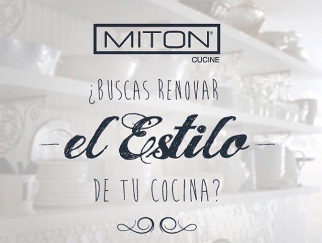 Buscas renovar el estilo de tu cocina? Agenda tu cita en Miton al mail projectmiton@topkitchen.cl y diseñadores expertos te asesorarán con los mejores materiales y las mejores ideas! Te esperamos!!