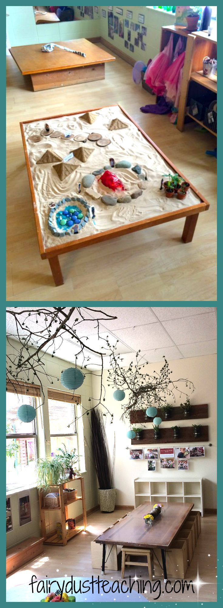 Beautiful Reggio Emilia environment at Boulder Journey School.