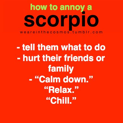 on and off relationship with a scorpio man upset