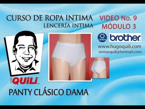 ▶ Curso de ropa intima - lenceria intima Tomo 1 modulo 3 Video 7 - YouTube