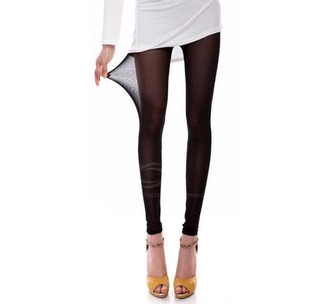 Skinny See-Through Mesh Leggings – teeteecee - fashion in style