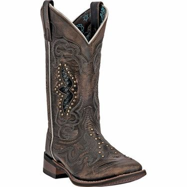 Laredo Women's Spellbound Cowboy Boot Square Toe [5660]