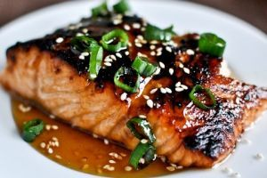 Gingered Salmon » Recipes and Foods from Norway
