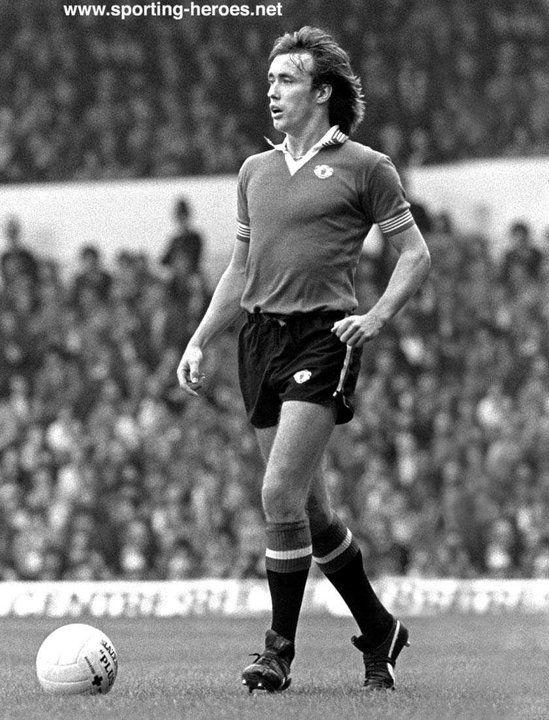 28 - Sammy McIlroy - 71 Goals/Games 419.