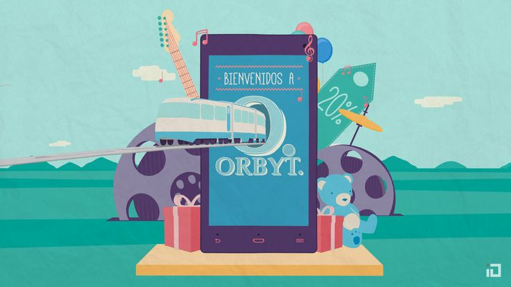 Orbyt - Promo Video. King kong, electric guitars, Gutenberg, iPads, teddy bears, kites, a beach and many more places, characters and objects...