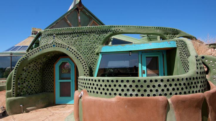 """""""Earthship Biotecture"""": Renegade New Mexico Architect's Radical Approach to Sustainable Living -- These off-the-grid homes minimize their reliance on public utilities by harnessing energy from the sun and wind."""