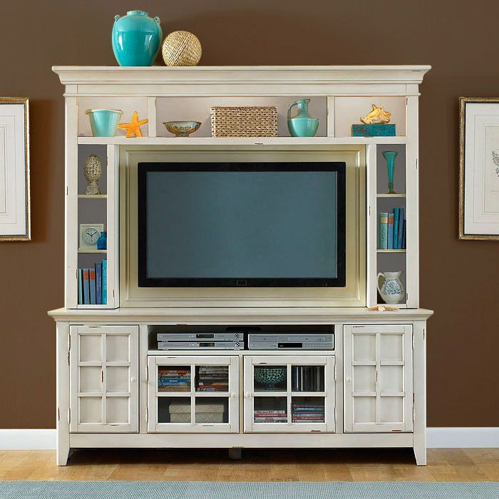 Make This For The Living Room White Would Balance Out From Basement Entertainment CenterEntertainment