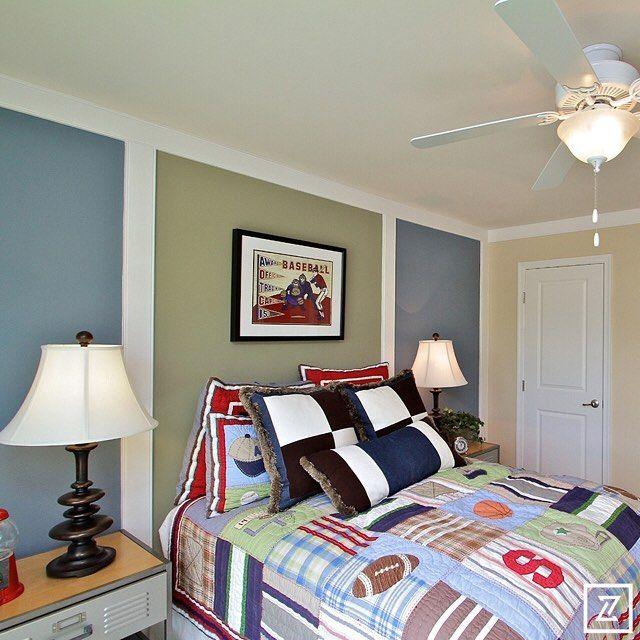 No Plain Walls Here And Doesnu0027t It Look Great? Parade Of Homes  . Bedroom  BoysParade Of HomesRoom ...