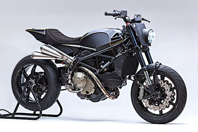 MORE THAN MEETS THE EYE. A Fully Transformed Ducati Tracker From Benjie's - Pipeburn.com
