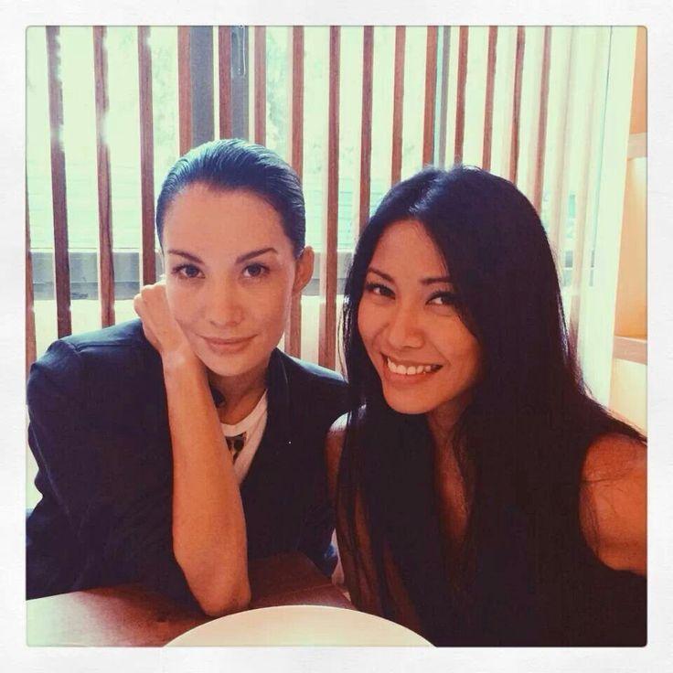 Nadya Hutagalung & Anggun C. Sasmi