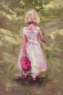 Sweet Thing, original painting by artist Robin Cheers | DailyPainters.com