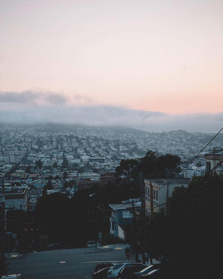 San Francisco Fog Map Live%0A Bay Area fog from Potrero Hill in San Francisco CA
