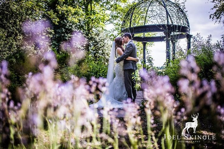 Love among the bluebells - Rachel and Edward's gorgeous Spring wedding at Goldsborough Hall. Image by Joel Skingle Photography