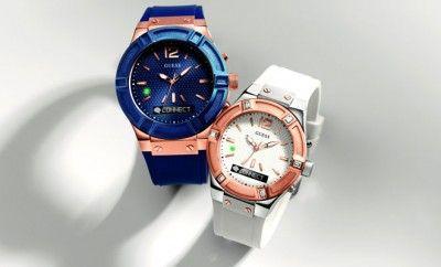 Guess Saatlerinden Bir Yenilik Daha… Guess'in Martian Watches ile yaptığı işbirliği sonucunda; Guess saatleri en çok talep gören saat kasasını akıllı saat teknolojisiyle geliştirdi. Guess Connect ile moda dünyası ile teknoloji dünyası buluşurken teknoloji tutkunları da moda dünyasına davet ediliyor!