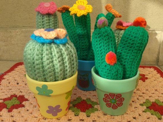 Amigurumi Cactus Crochet Pattern : 256 best cactus amirugumis images on pinterest amigurumi patterns