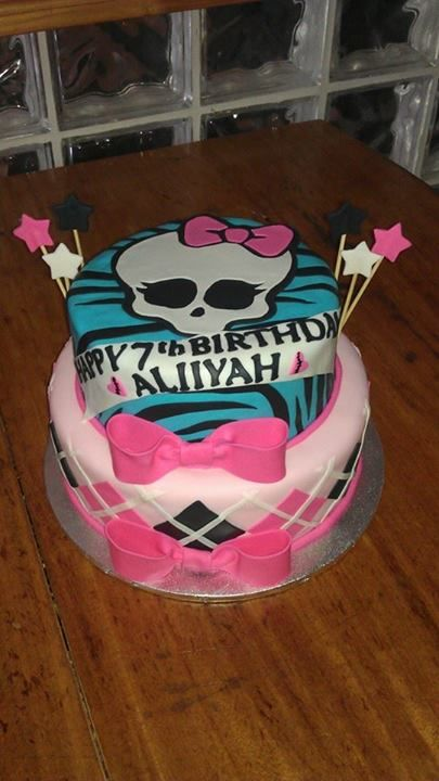 Monster High themed cake