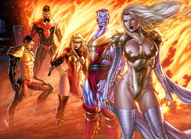 Phoenix Force X-Men