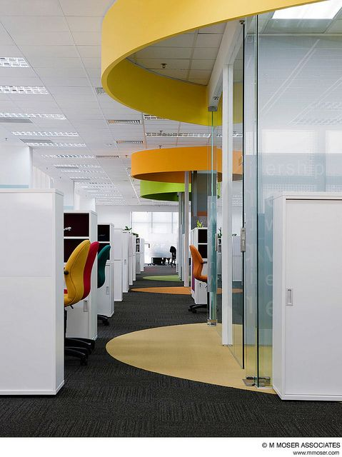 642 best office spaces images on pinterest architecture for Office interior design inspiration