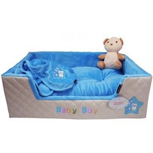 Baby Boy Puppy Bed | Dogs - Bedding | Puppy beds, Bed, Dog bed
