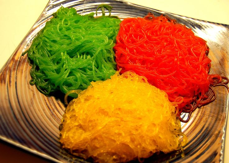 Colors rock. This is simply an easy guide for coloring noodles.