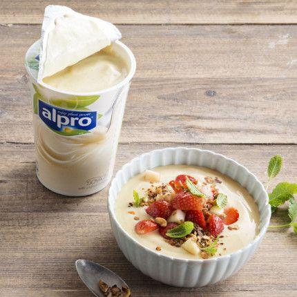 Colazione sana e dietetica? Con lo yogurt vegetale e le proteine della soia