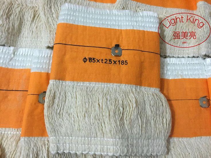 1 UNID 85 * t2.5 * 185mm Estufa de Queroseno Mechas Que Contienen Las Uñas de Alta Calidad de Fibra de Vidrio + 100% Algodón calentadores de Mecha Envío Libre
