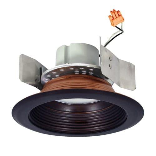 Nora Lighting Nlcbc-55227 Cobalt 5 LED 2700K Baffle Recessed Trim (Bronze) (Aluminum)