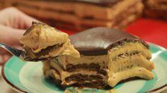 Ένα πραγματικά υπέροχο γλυκό που μας έρχεται από την Αργεντινή! Σοκολάτα, μπισκότα, τυρί κρέμα και υπέροχη κρέμα γάλακτος