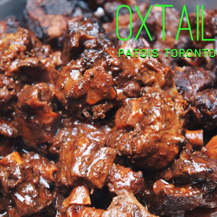Jamaican oxtail from Patois Toronto