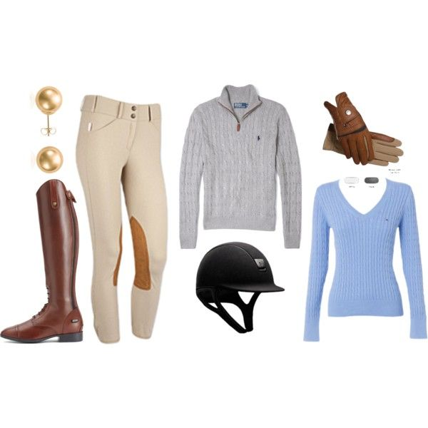 Fall Clinic by shawnmcadam22 on Polyvore featuring Tommy Hilfiger, Blue Nile, Polo Ralph Lauren and Ariat