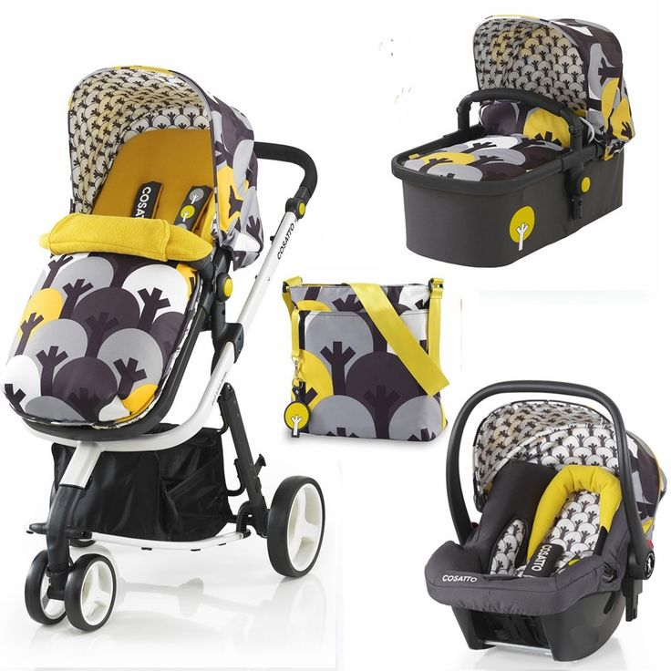 Cosatto Giggle 2 3-in-1 Combi (Moonwood) from Cosatto part of the 3-in-1 Pram Systems range available at PreciousLittleOne