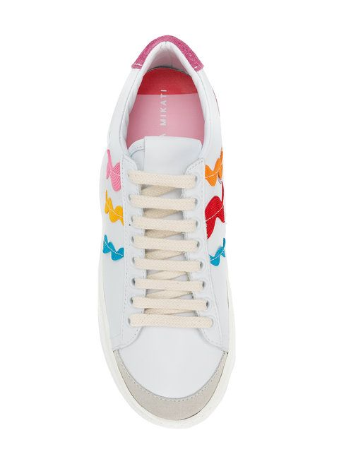 competitive price 02bce 55fc0 Shop Mira Mikati rainbow wave sneakers.