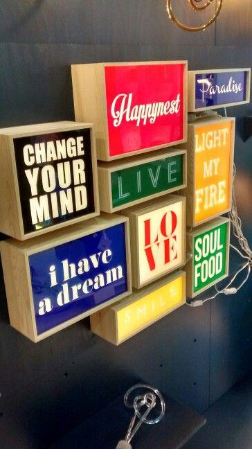 #lightbox #typography #funkysigns