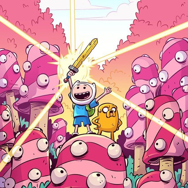 I wrote and drew a short story for the Adventure Time Comic! This is my first published comic:D In stores Dec 20th! Big thank you to @boom_studios for the opportunity. Let your comic shop know to order the book today! Previews number OCT171298. Let's make