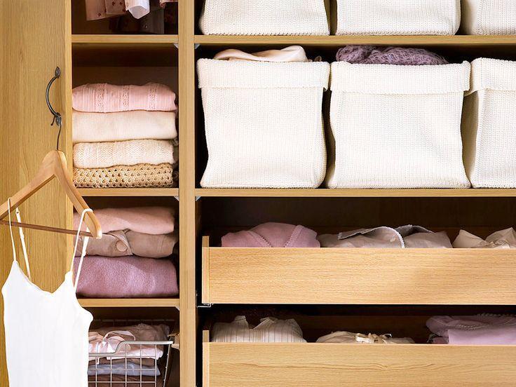 Die besten 25+ Platz im Schrank Ideen auf Pinterest - ordnung kleiderschrank tipps optimalen einraumen