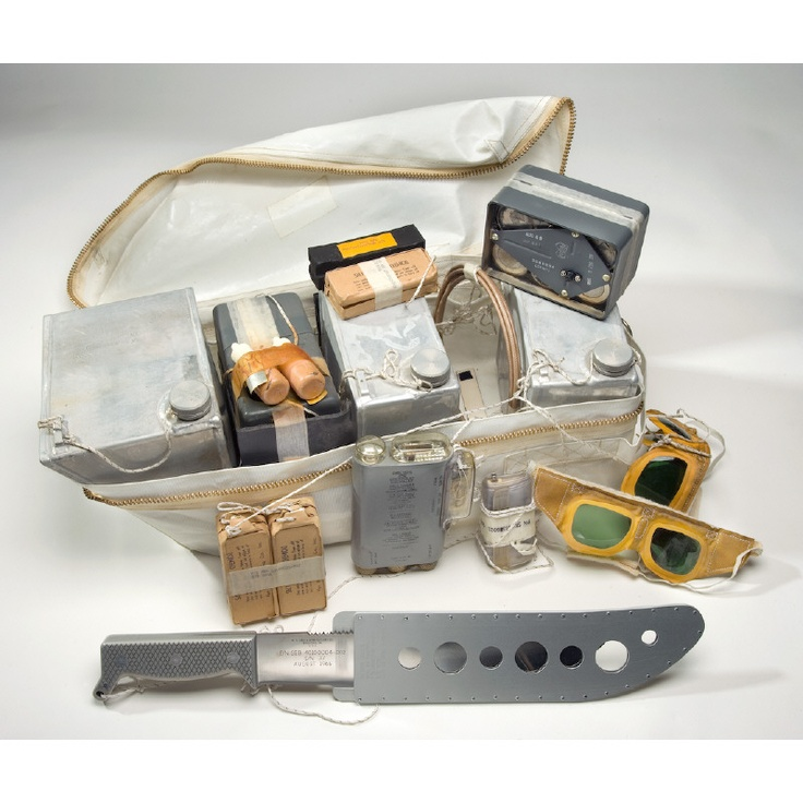 Rucksack #1, Survival Kit, Apollo 11  Each Apollo mission was equipped with…