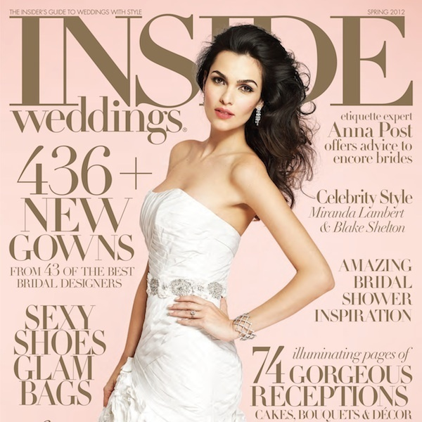 Inside Weddings Magazine Is The Absolute Best Bridal