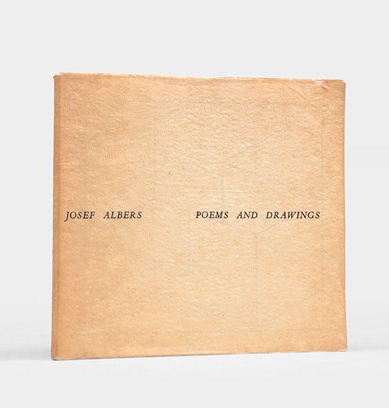 josef albers poems and drawings