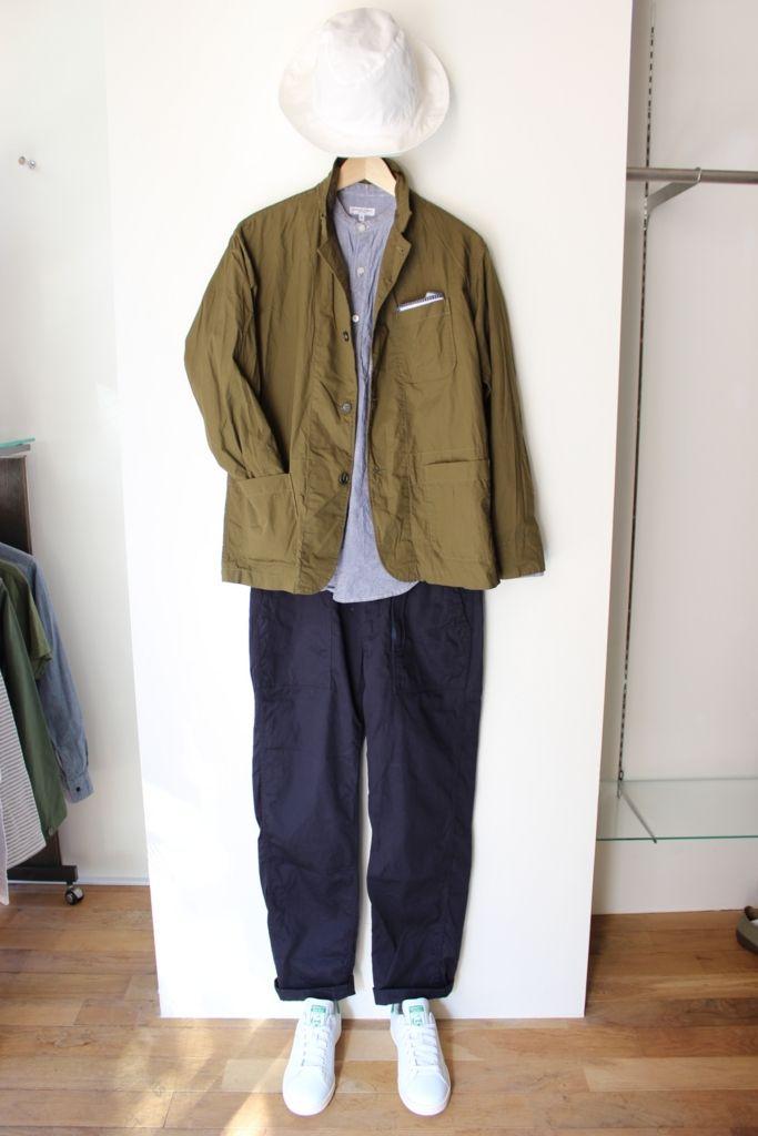 """Engineered Garments""から新作の""LOITER JACKET""が技ありです。 - CHINATOWN RIX BLOG"
