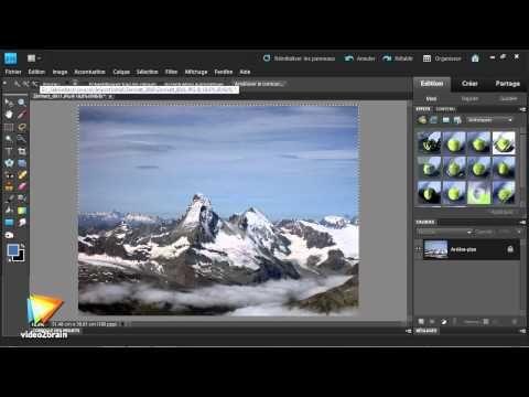 ▶ Adobe Photoshop Elements 9 : Retouche standard - YouTube