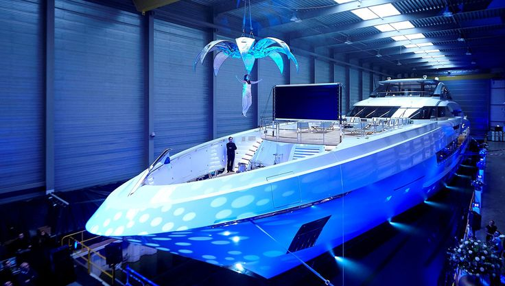 Heesen Yachts Launches Its Largest Boat to Date, the 229-Foot Galactica Super No…