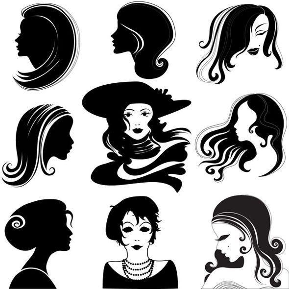 Silhouette Fifty Fab Woman: Pin By Jessica Duchene On Fabulous Femme Fatales!