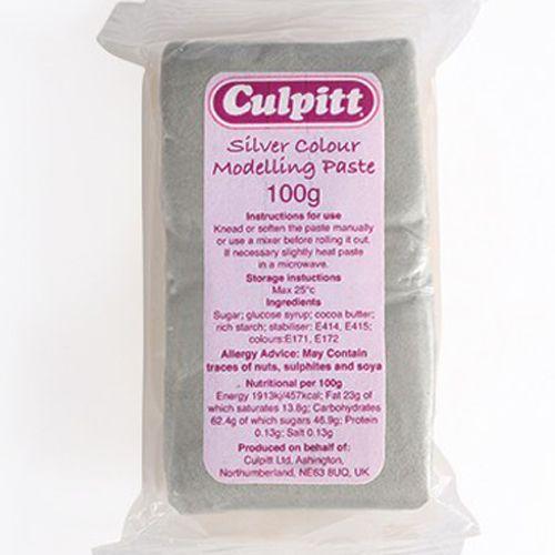 Culpitt Modellierpaste silber, 100 g