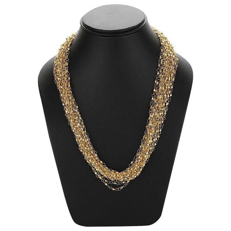 Adbeni+Fine+Metal+Link+Golden+Chains+Necklace-ADB-021+Price+₹589.00