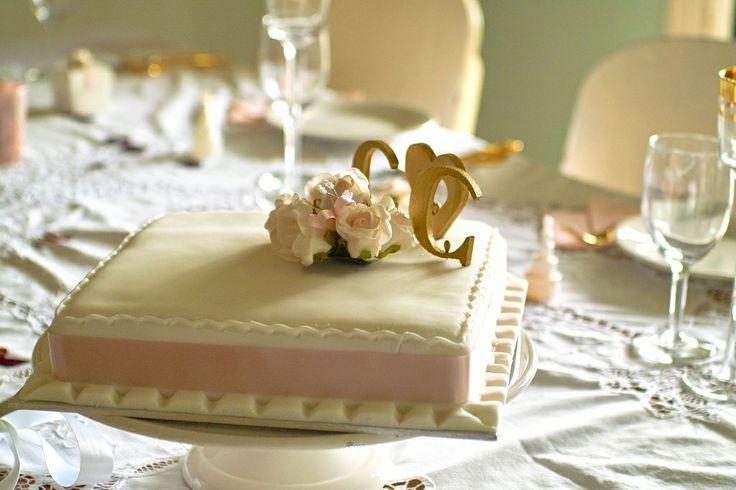 #Wedding cake #pink
