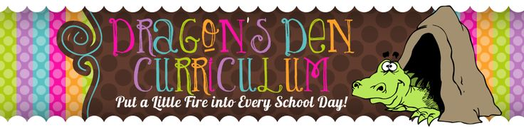 Dragon's Den Curriculum - Wonderful elementary education blog complete with well thought out activities.